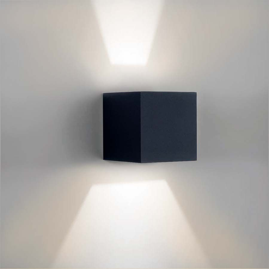 Malerisch Designer Wandleuchten Foto Von Mini Light Mats 2 Led Wandleuchte Antrazit