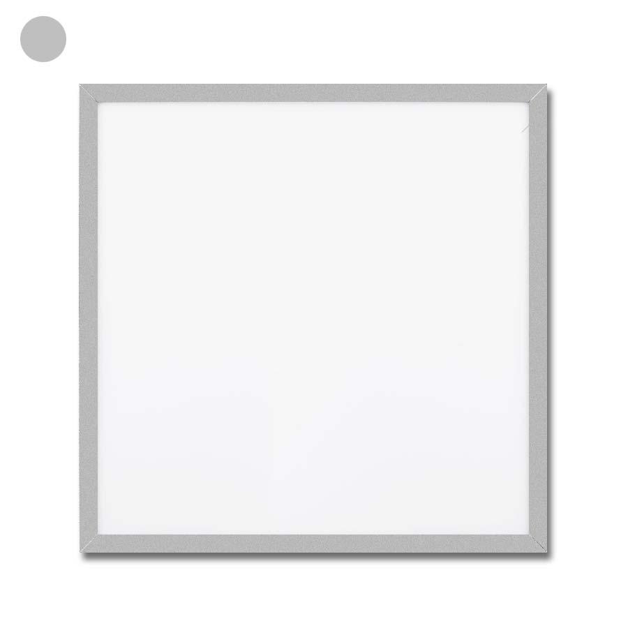 led panel 42w 62x62 mit 3000k 4000k oder 5000k silber kaufen lichtraum24. Black Bedroom Furniture Sets. Home Design Ideas