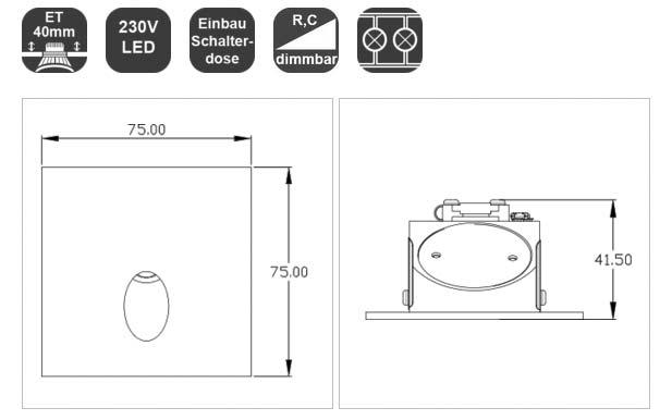 mobilux-treppenlicht-wallwasher-schalterdose-weiss-eckit-q830-lichtraum24-03